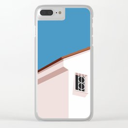 SUMMER HOUSE 1 Clear iPhone Case