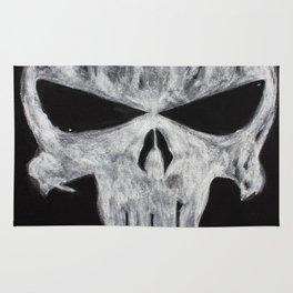 The Punisher skull Rug