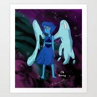 Steven Universe - Lapis in Space Art Print