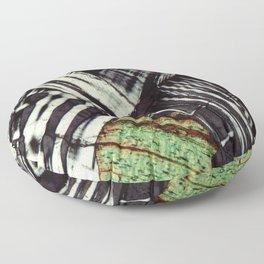 Feldspar and Biotite Floor Pillow