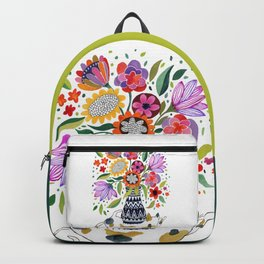 Calico Bouquet Backpack