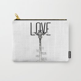 LOVE TO THE MOON AND BACK Carry-All Pouch