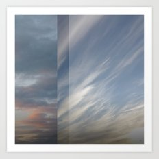 Northern Sky Fragments 8 Art Print