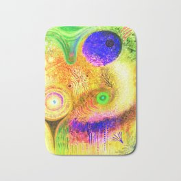 abstract  #206 Bath Mat