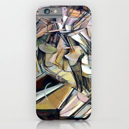 Marcel Duchamp Nude Descending a Staircase iPhone Case