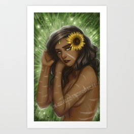 Nidalee from league of legends Art Print