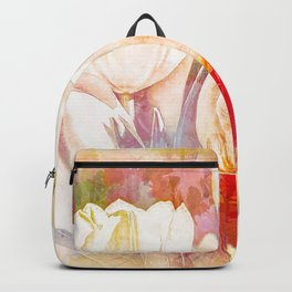 Tulip Fever Abstract Art Backpack