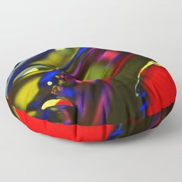 Incarnation of Madness Floor Pillow