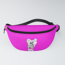 Sassy Chinese Crested Fanny Pack
