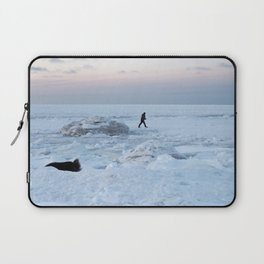 Out on the Ice Laptop Sleeve