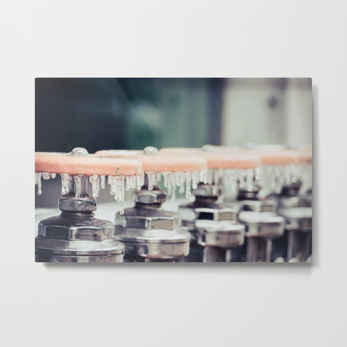 Water Works Metal Print