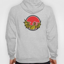 Basilisk Bat Wing Cartoon Hoody