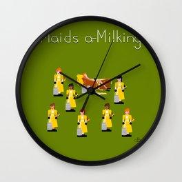 12 Days Of Christmas Nutcracker Theme: Day 8 Wall Clock
