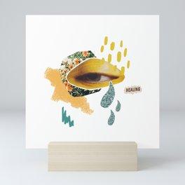 I am healing Mini Art Print