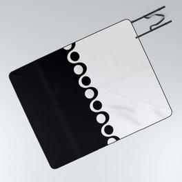Black and White Mod Picnic Blanket