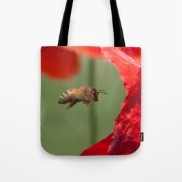 The Levitating Bee Tote Bag