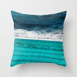 Bondi Beach II art print Throw Pillow