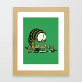Huuungry! Framed Art Print