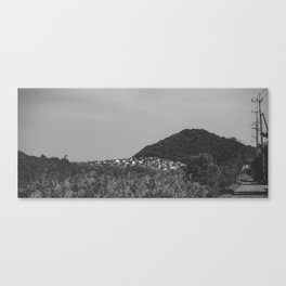 Japanese countryside Canvas Print