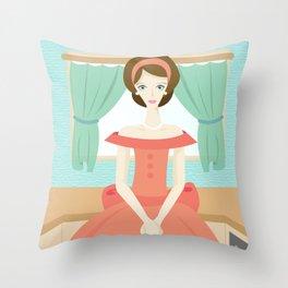 1950s Mama Throw Pillow