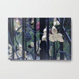Grapevine Gate Metal Print