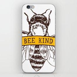 Bee Kind iPhone Skin
