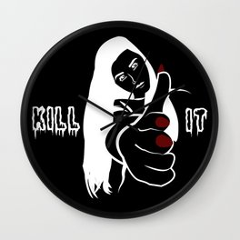 Girl, Kill it Wall Clock