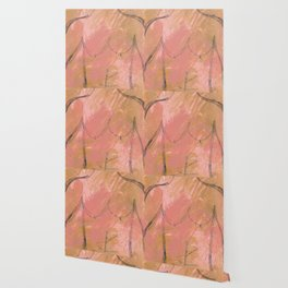 Nude Abstract Couple: His Wallpaper
