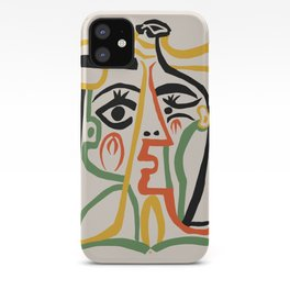 Picasso - Woman's head #1 iPhone Case