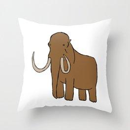 Mammoth Throw Pillow