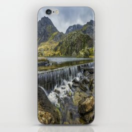 Llyn Ogwen Weir iPhone Skin