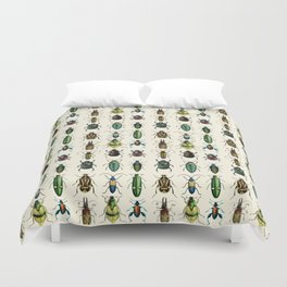 Jeweled Beetles  Duvet Cover