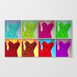 Slips 3 Canvas Print