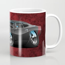 Classic 60's American Muscle Car Cartoon Coffee Mug