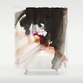 Day 22: There is newness in every moment. The good and bad come all at once. Shower Curtain