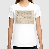 mozart T-shirts featuring Mozart by Le petit Archiviste