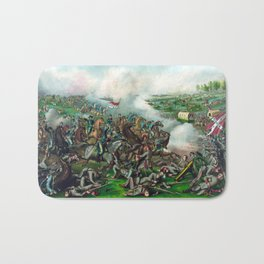 Civil War -- Battle of Five Forks Bath Mat