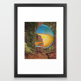Consequence Framed Art Print