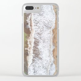 Caribbean beach Clear iPhone Case