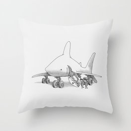 Pilot Fish Throw Pillow