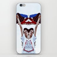 american iPhone & iPod Skins featuring AMERICAN by Paparrazzi666