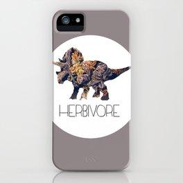Herbivore iPhone Case