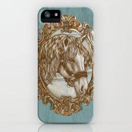 Ornate Horse Portrait iPhone Case