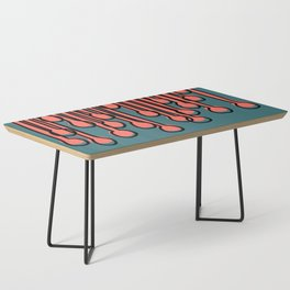 Running to you Living Coral Coffee Table