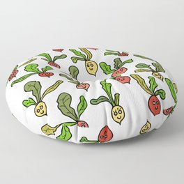 Cute and Colorful Radish Pattern Floor Pillow