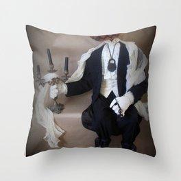 Sebastion Brimstone Throw Pillow