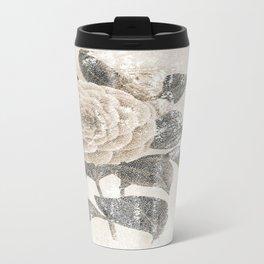 Vintage Camellia Travel Mug