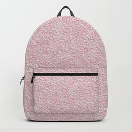 Pink plaster texture Backpack