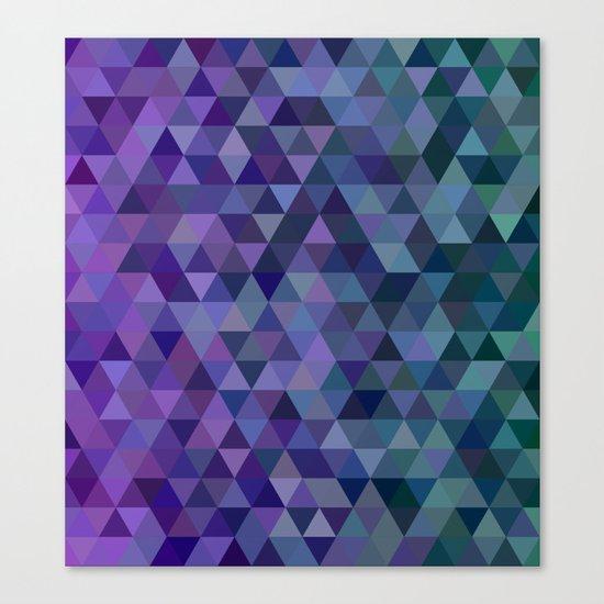 Triangle tiles Canvas Print