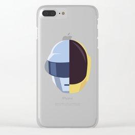 Daft P Clear iPhone Case
